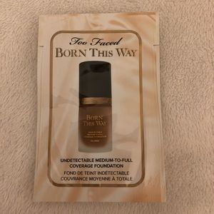 NWT Too Faced Born This Way Foundation